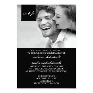 Wedding Invitation | Initially