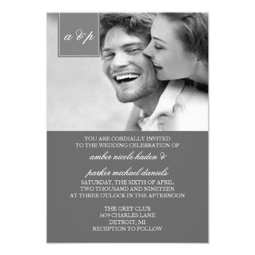Wedding Invitation | Initially