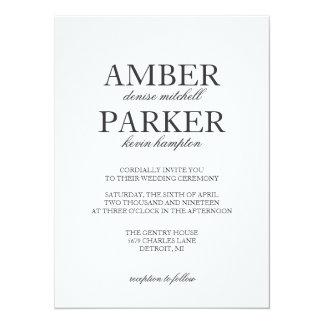 Wedding Invitation | Names