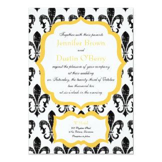 Wedding Invitation   New Orleans   Gold Alternate