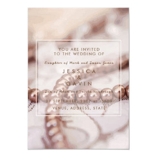 Wedding Invitation Pearls