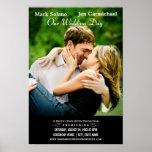 Wedding Invitation Poster | Movie Themed Design