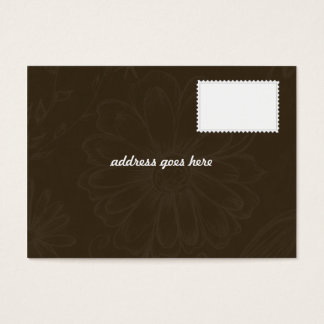 Wedding Invitation - RSVP Card