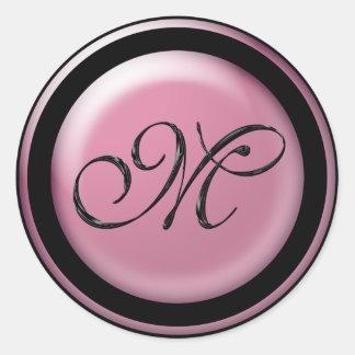 Wedding Invitation Seals M Round Sticker