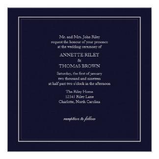 Wedding Invitation | Simply |dblgry