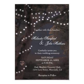 Wedding Invitation | String Lights