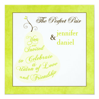 Wedding Invitation | The Perfect Pair