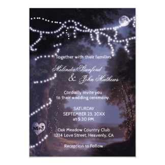 Wedding Invitation | Tree Lights