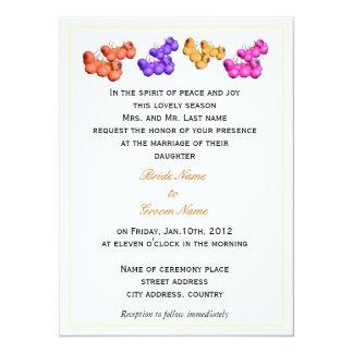 wedding invitations from bride's parents custom announcement