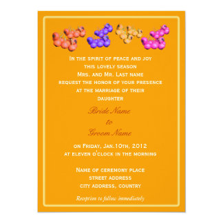 wedding invitations from bride's parents personalized invite