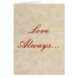 Wedding Invitations - Love Always Love Deep
