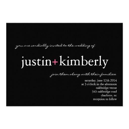 Wedding Invite | A+ |blackpink