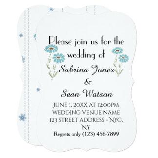 Wedding Invite Flora Personalize Destiny Destiny'S