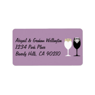 Wedding Invite or Thank You Address Labels