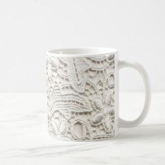 Wedding Lace Basic White Mug