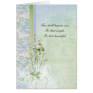 Wedding Lilies Card