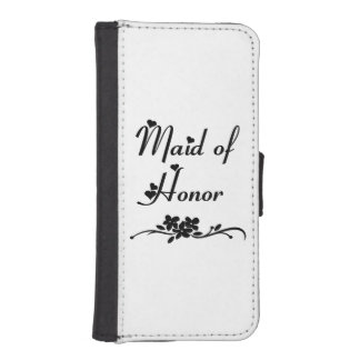 Wedding Maid of Honor iPhone 5 Wallets
