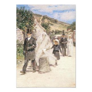 Wedding March by Robinson, Impressionism Art Card