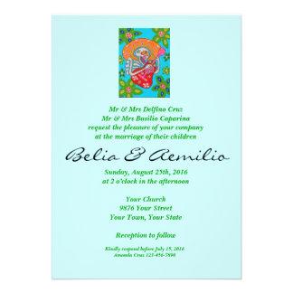 Wedding - Mariachi Serenade Day of Dead Skeleton Cards