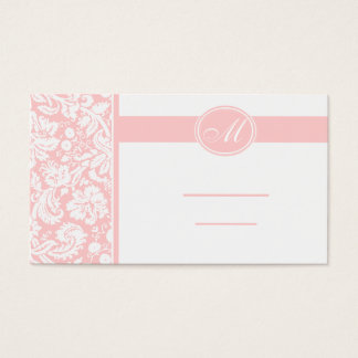 Wedding Meal Place Setting Cards, Color Select Business Card