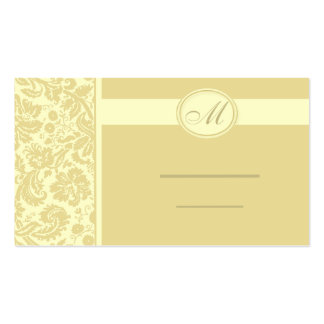 Wedding Meal Place Setting Cards, Color Select Pack Of Standard Business Cards