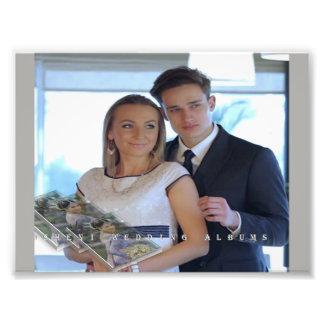 wedding momaries photo print