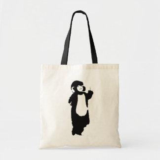 Wedding Monkey Tote Bag