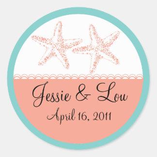 Wedding Monogram Sticker - Personalize it
