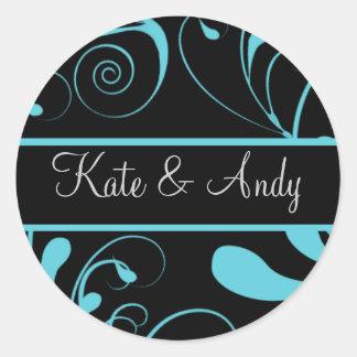 Wedding Monogram stickers
