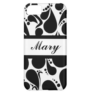 Wedding Monogram Style iPhone 5C Case