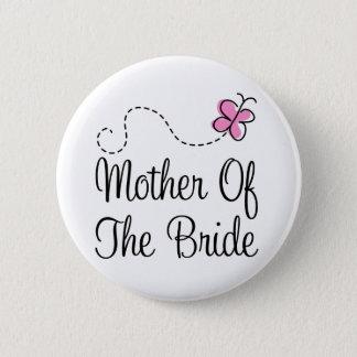Wedding Mother Of Bride Button