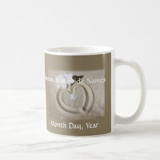 Wedding Mugs - Customize with Your Names and Date