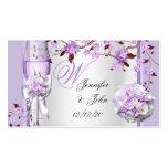 Wedding Name Place Lavender Purple Lilac 4