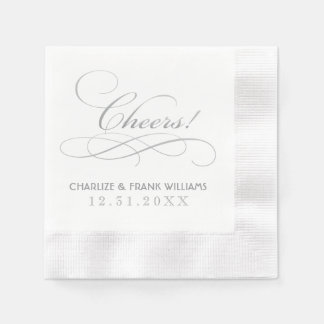 Wedding Napkins | Cheers Custom Design Disposable Napkin