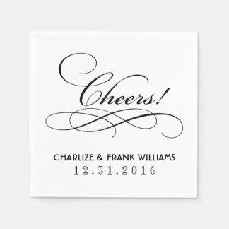 Wedding Napkins | Cheers Custom Design Paper Napkins