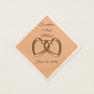 Wedding napkins custom colors disposable napkin
