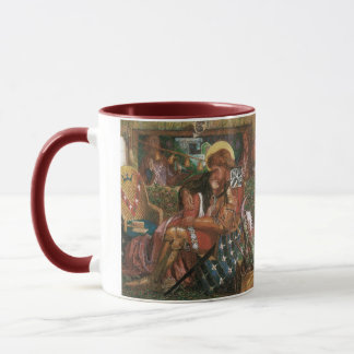 Wedding of St George, Princess Sabra by Rossetti Mug