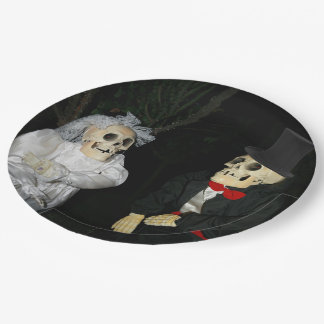 Wedding of the Dead Paper Plate
