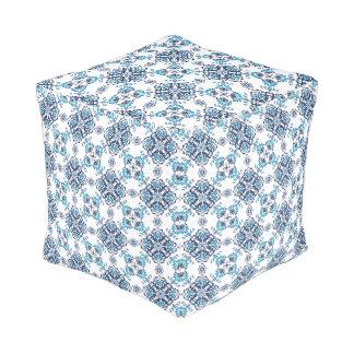 Wedding paisley tradition elegant pattern pouf
