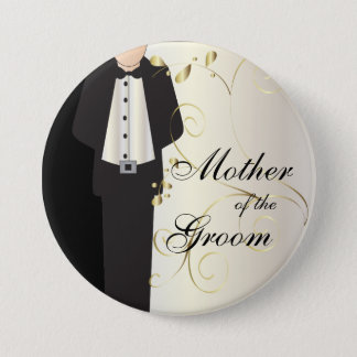 Wedding Party Button Pins