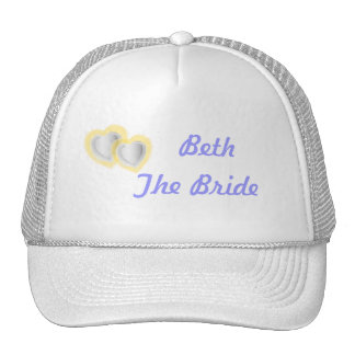 Wedding Party Cap- Customize - Customized Cap