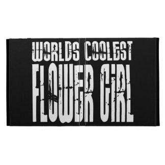 Wedding Party Favors : Worlds Coolest Flower Girl iPad Folio Case