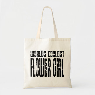 Wedding Party Favors : Worlds Coolest Flower Girl Tote Bag