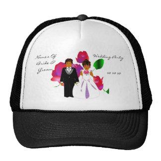 """Wedding Party"" Hat - Customizable"