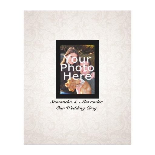 Wedding Photo ~ Guest Signature Canvas Print
