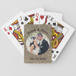 Wedding Photo Playing Cards Gift Favor