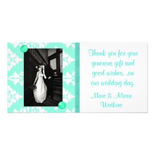 Wedding Photo Thank You Card Customised Photo Card
