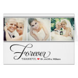 Wedding Photo Thank You Note Cards | Black + White Cards