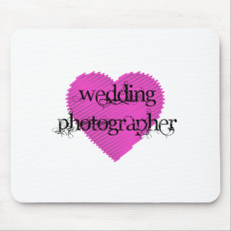 Wedding Photographer Mouse Pad
