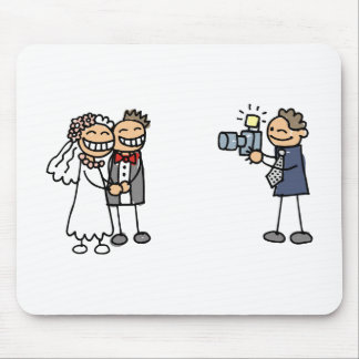 Wedding Photographer Photography Wedding Pictures Mouse Pad
